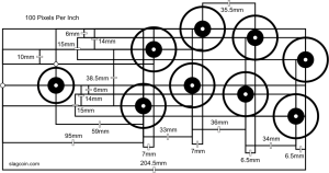 Joystick Controller  Panel Layout