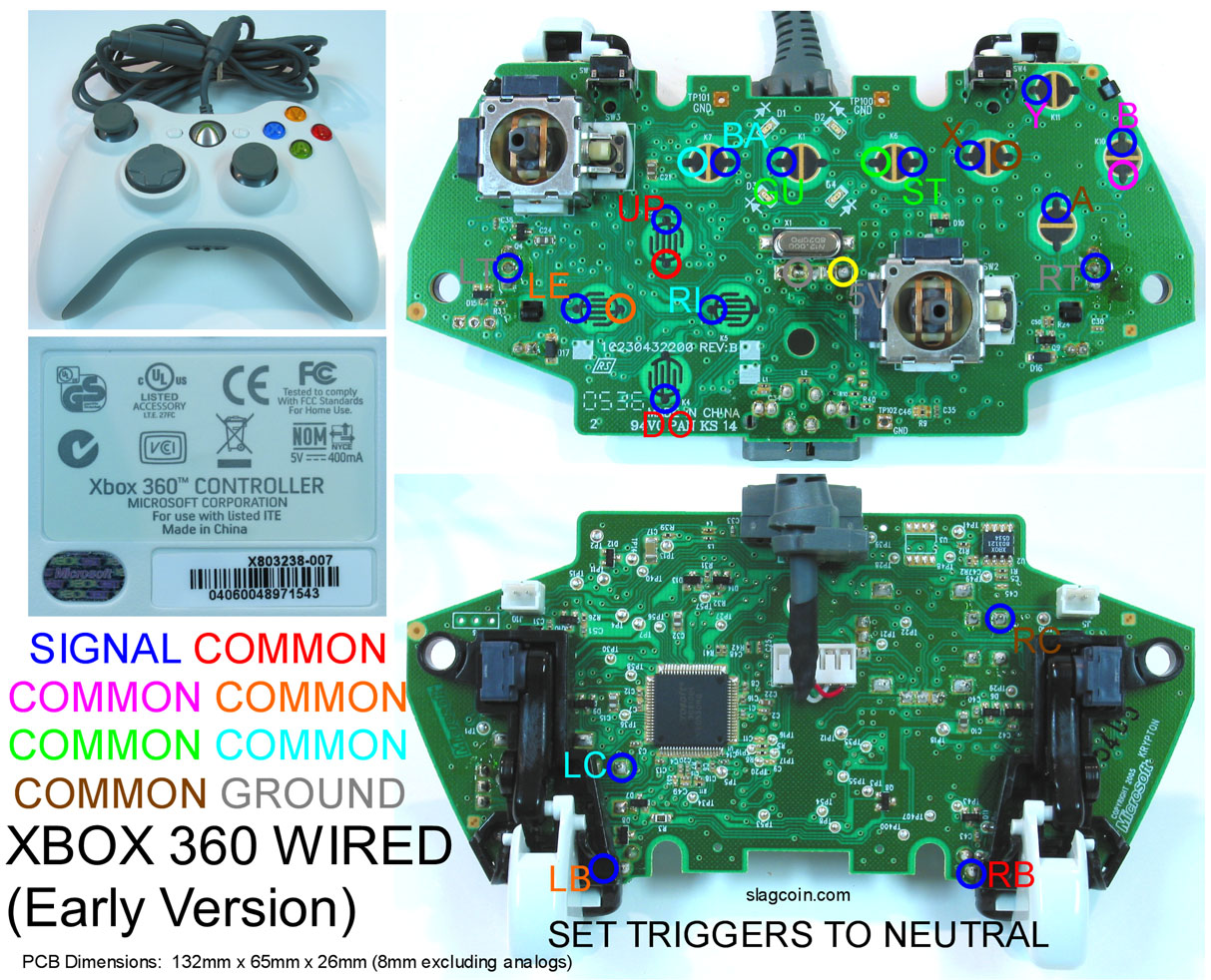 Xbox 360 Wireless Controller Wiring Diagram,Wireless.Free Download ...