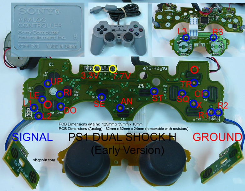 Phenomenal Ps3 Controller Inside Parts Diagram Wiring Digital Resources Funapmognl