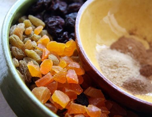 Tørret frugt og skønne krydderier