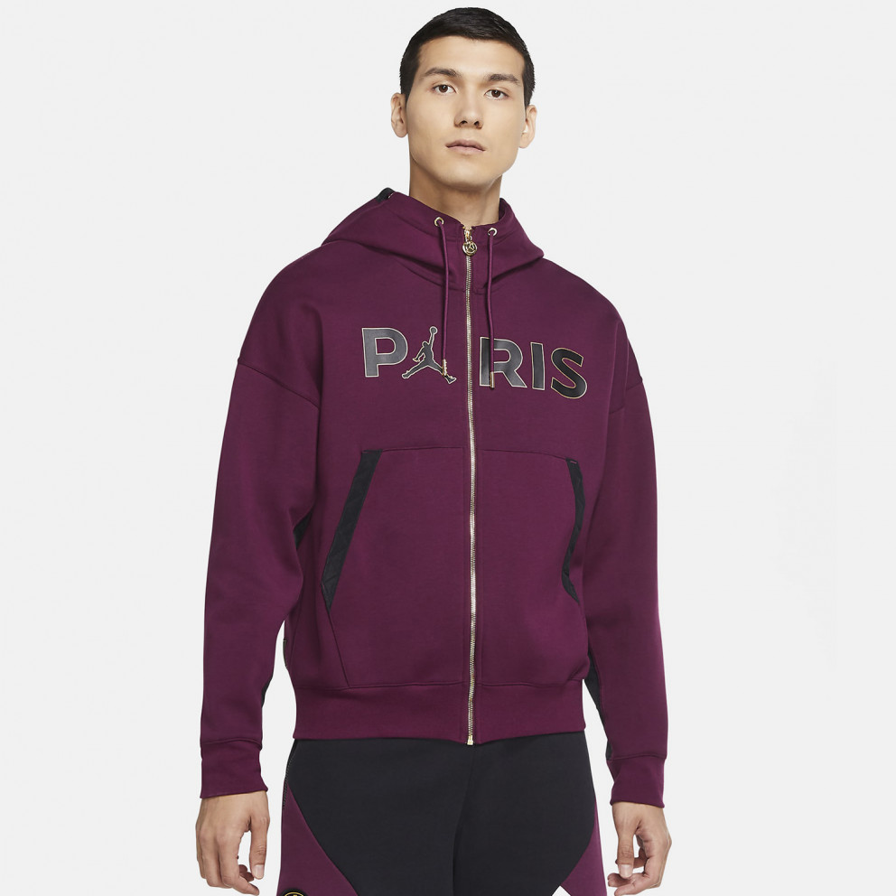 jordan x psg men s jacket with hood