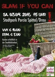 Picknick Slam Plakat