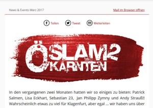Newsletter März 2017