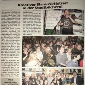 Oberkärntner Nachrichten, 25. März 2016