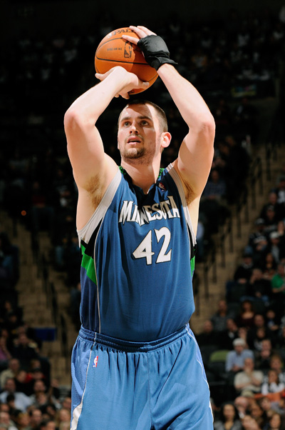 On Novemeber 12th 2010 Kevin Love Became The Only Player