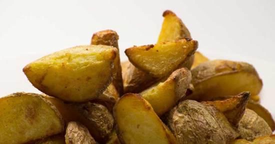 aardappeldieet met gebakken aardappelen
