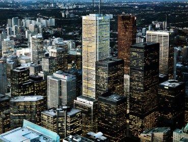 Canada City Skyline