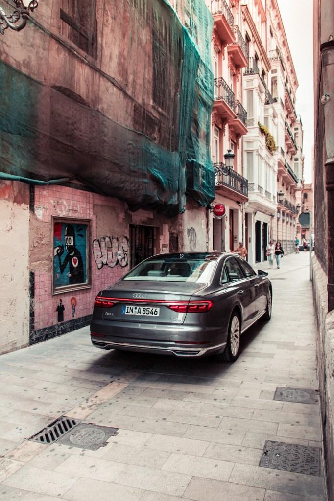 Audi A8 Rear