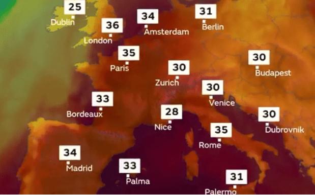 British Heatwave - Climate Change