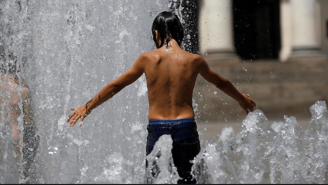Hot as Hell - Boy in Water