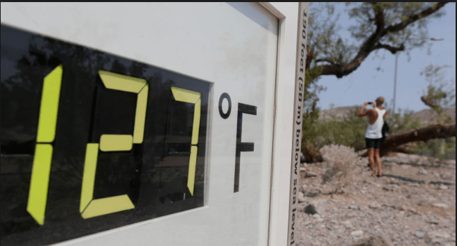 127 degrees - Heatwaves