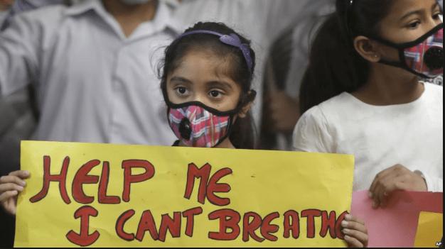 Fossil Fuels - New Delhi pollution