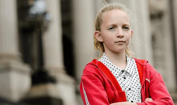 Teen Climate Activist Jean Hinchcliffe