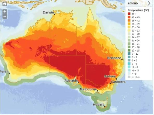 Marine Nurseries - Australian climate map
