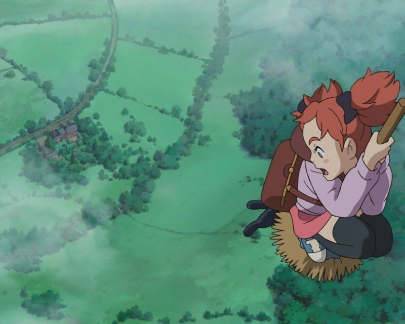 Mary and the Witch's Flower   Film Review   Slant Magazine
