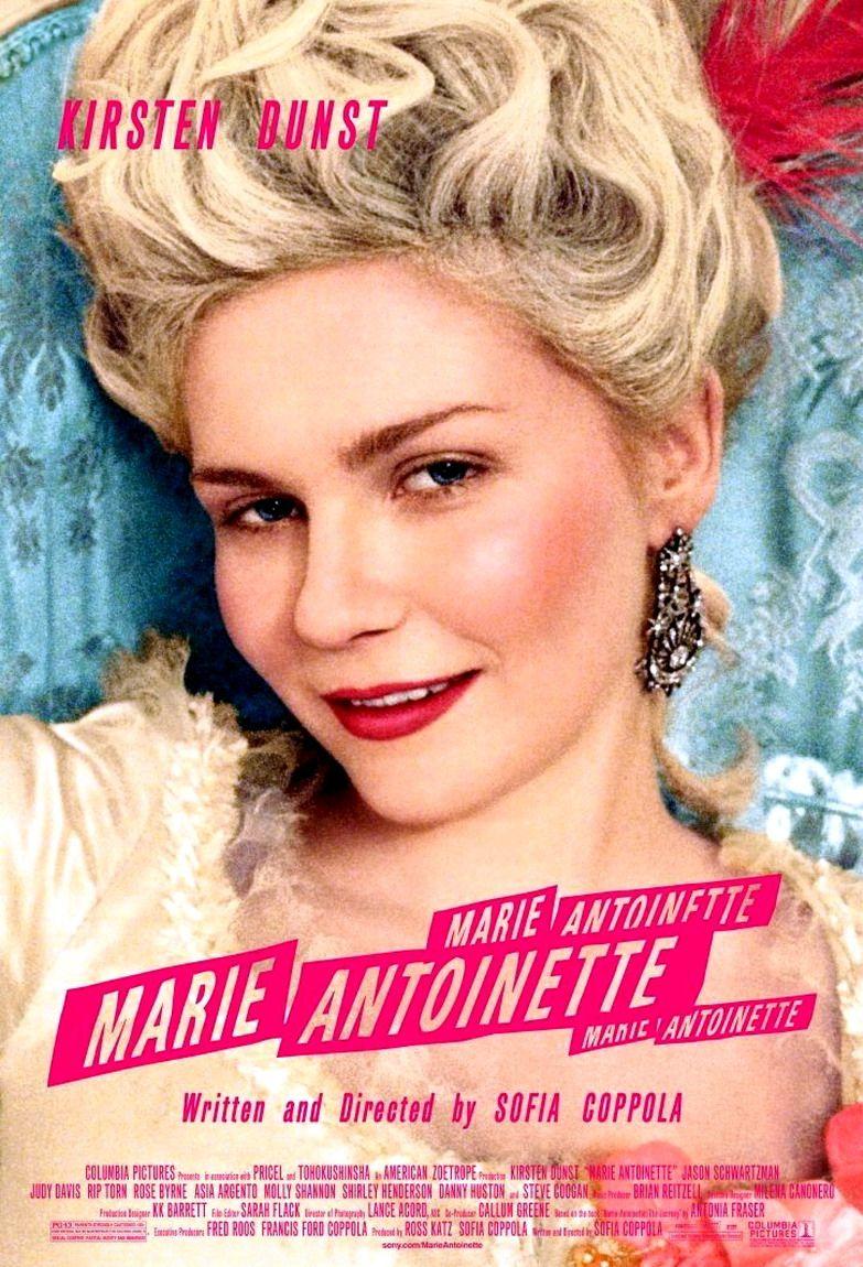 Resultado de imagem para marie antoinette sophia coppola poster