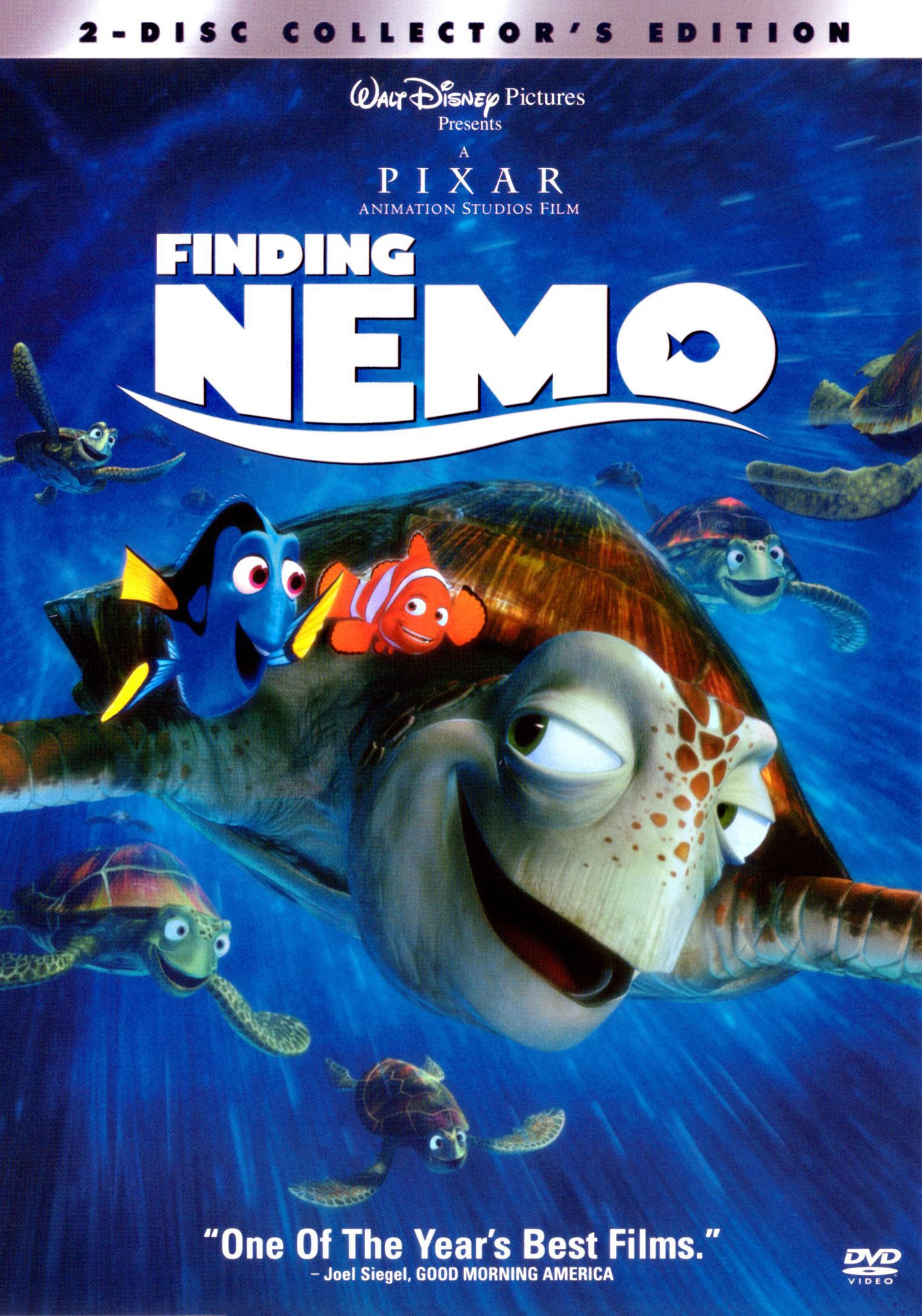 Dvd Review Finding Nemo