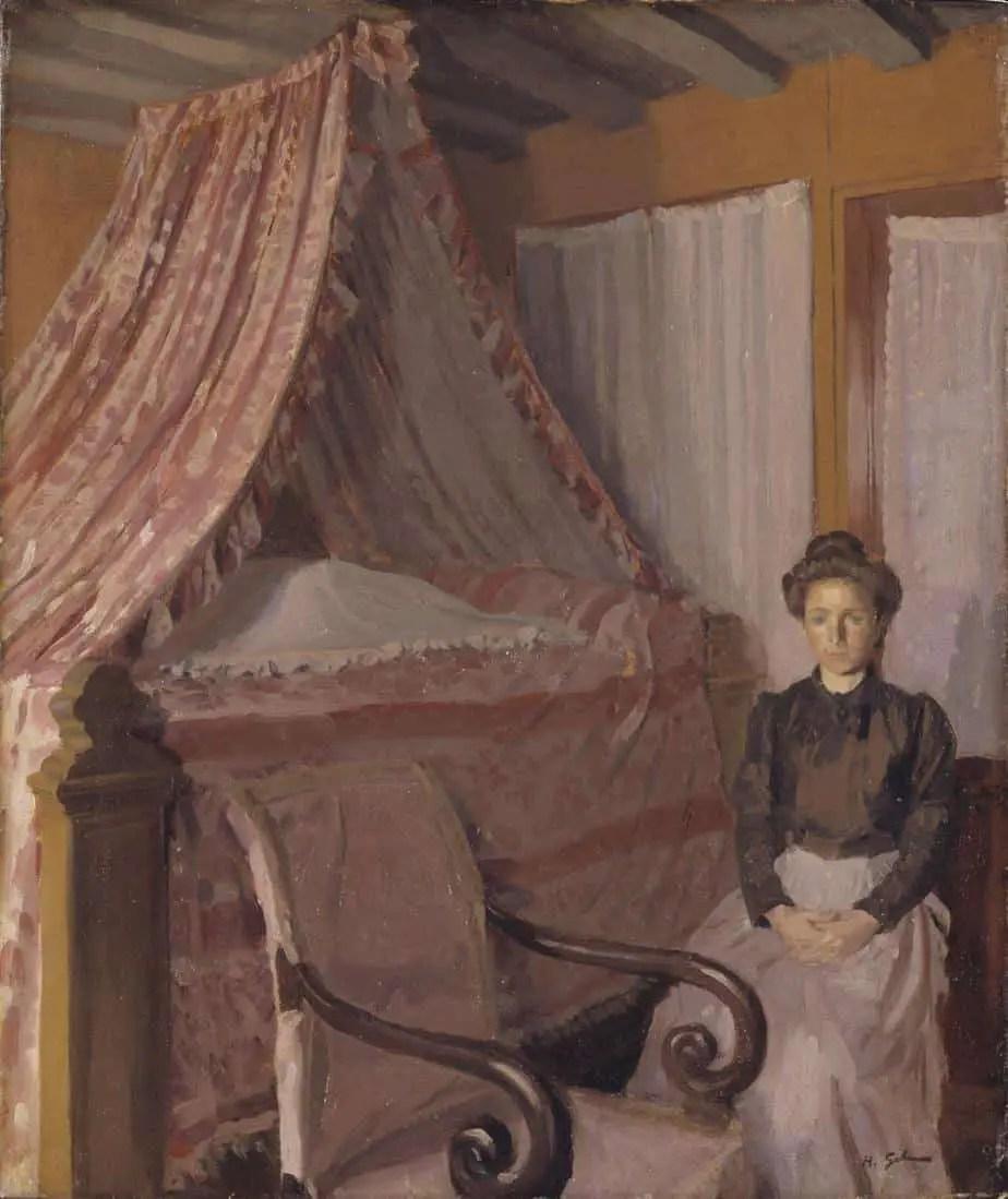 French Interior c.1907 Harold Gilman 1876-1919
