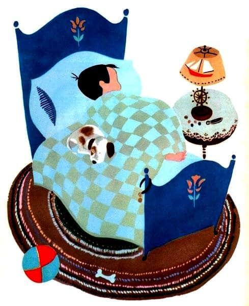 Pets for Peter, 1950, Aurelius Battaglia, Italian American Children's Book Illustrator