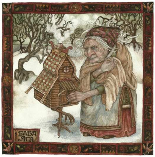 baba yaga by by Rima Staines
