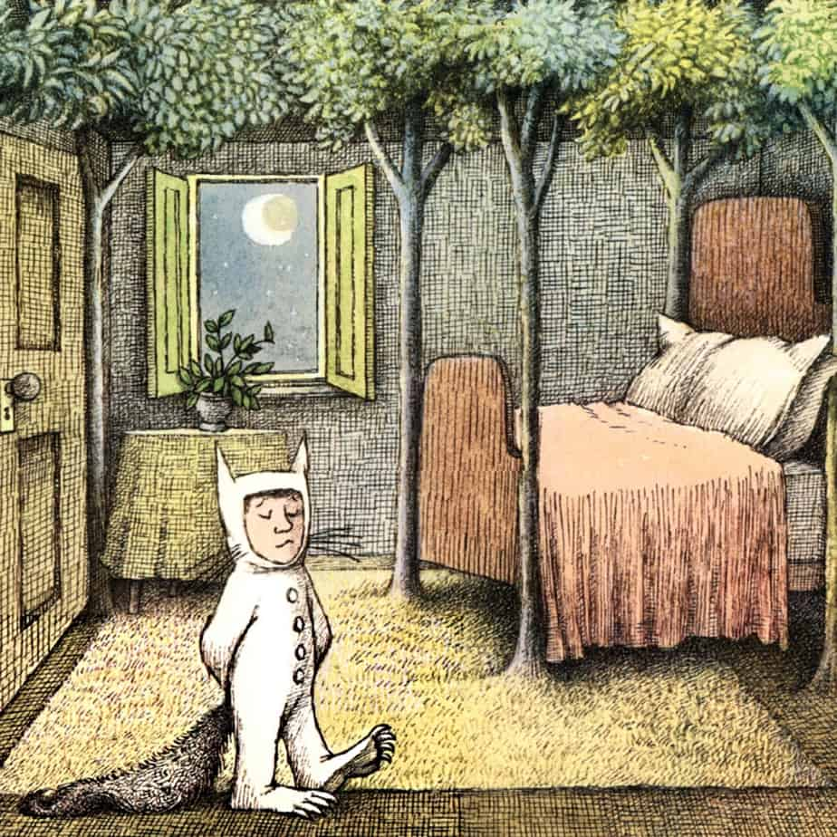 where the wild things are bedroom