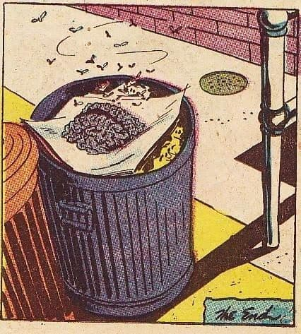 Brain in a trash can