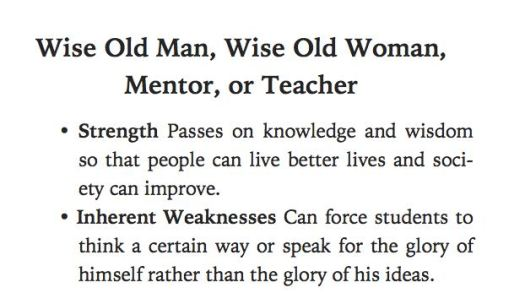 Wise Old People Archetype Teacher