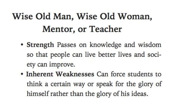 Wise Old People Archetype Teacher