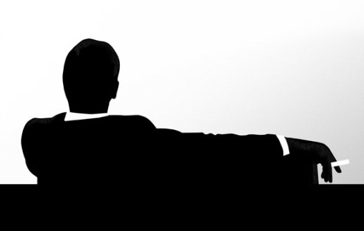 mad men silhouette