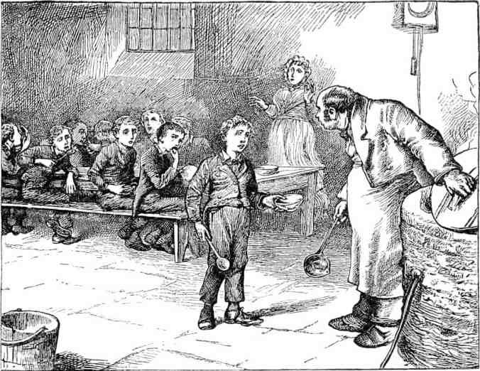 Please Sir May I Have Some More? Oliver Twist orphan