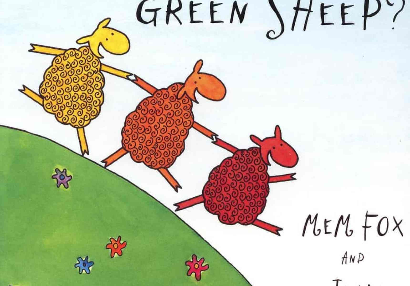 Where Is The Green Sheep? by Mem Fox and Judy Horacek cover