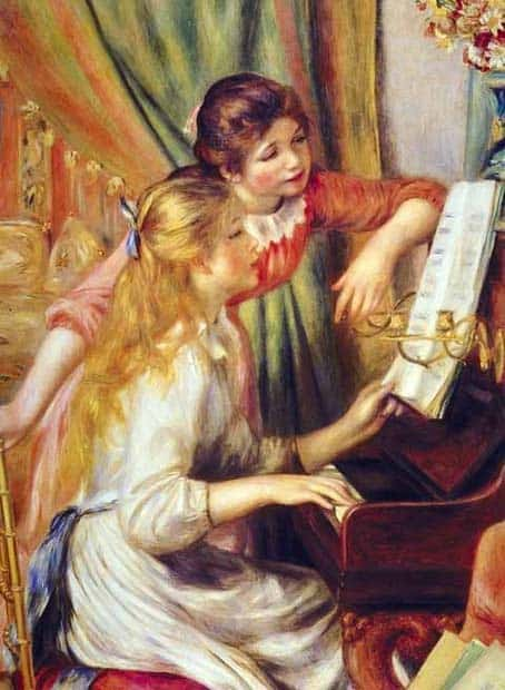 Girls At The Piano Renoir
