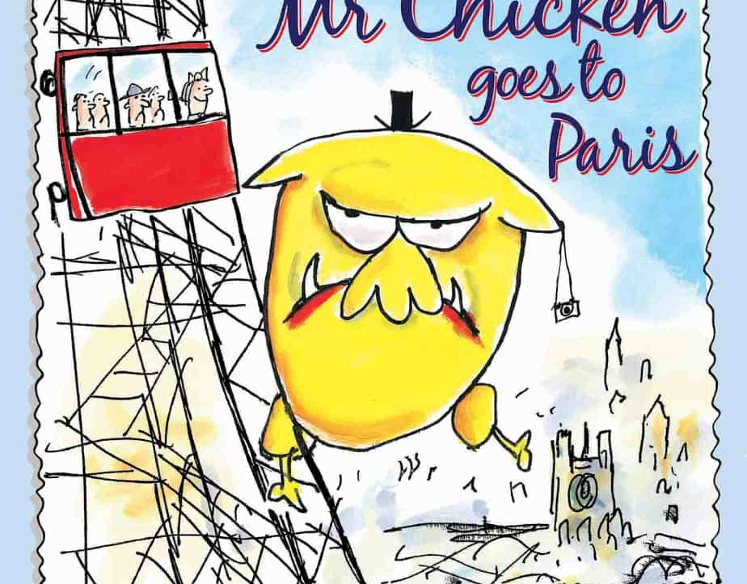 Mr Chicken Goes To Paris Cover