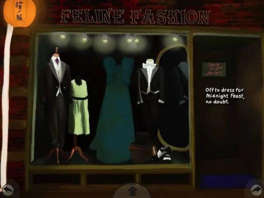 midnight feast cat clothing shop