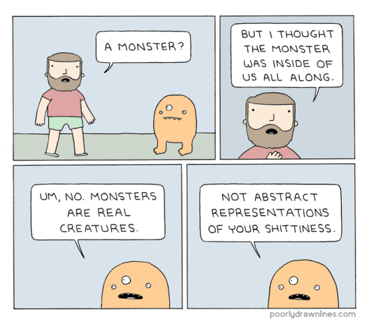 monsters in stories