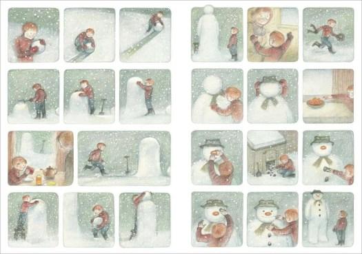 The Snowman blues