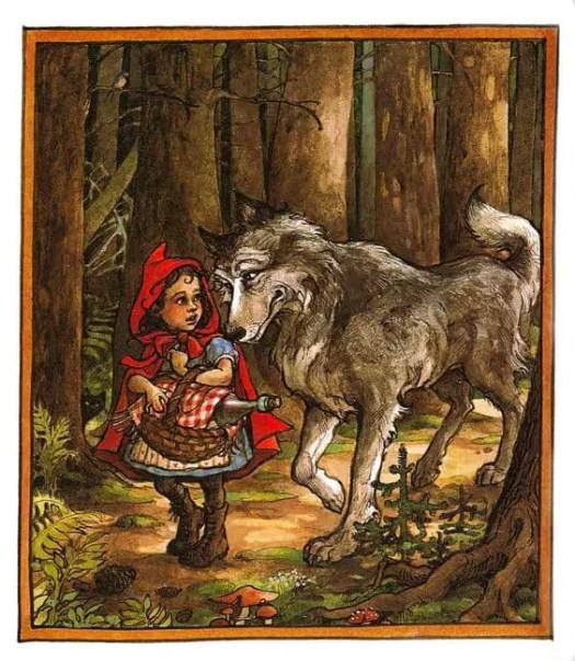 Trina Schart Hyman wolf dog