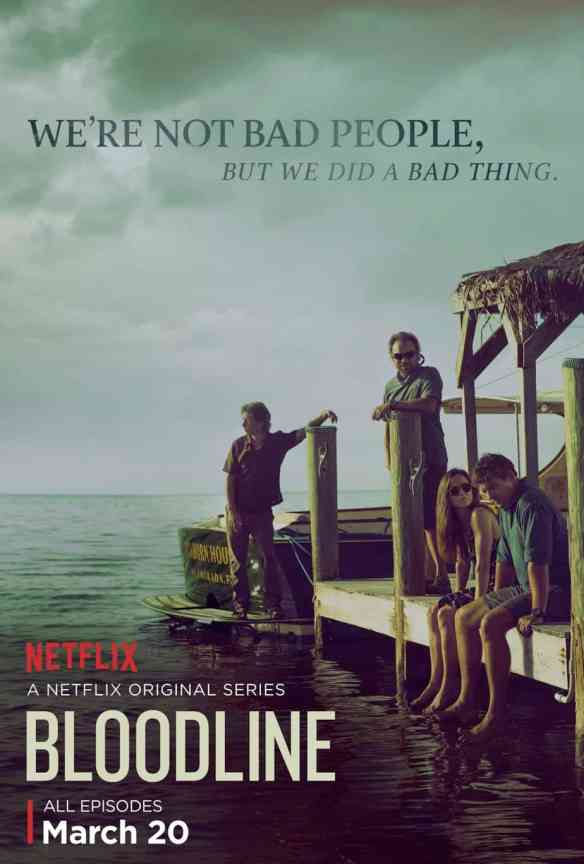 Bloodline Poster compare with Goodbye My Brother