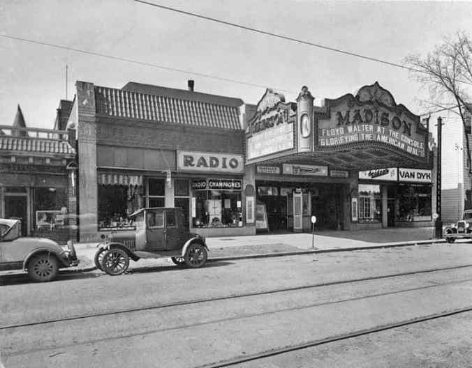 Madison Ave movie theatre 1930s THE POT OF GOLD