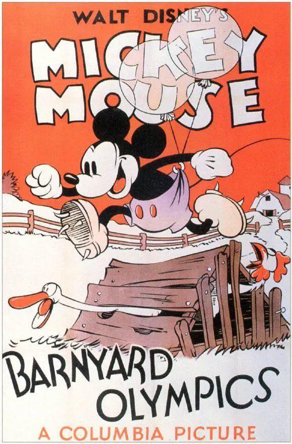 Micky Mouse Barnyard Olympics