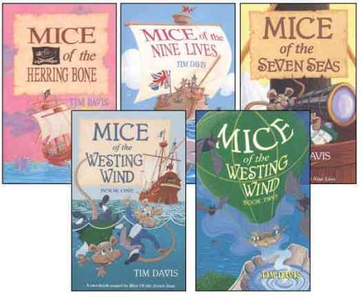Mouse books by Davis