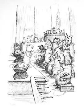 garth williams mouse crowd scene