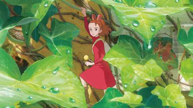 Arrietty Leaf Detail