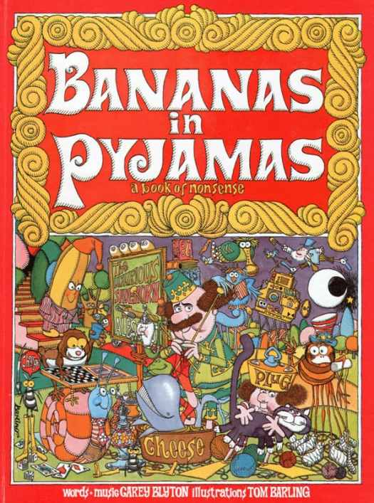 Bananas In Pyjamas Tom Barling who also illustrated Thirteen O'Clock