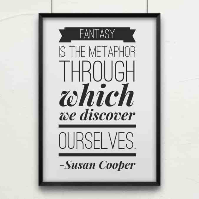 Susan Cooper writing quote
