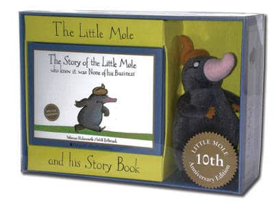 PLUSH TOY OF OF THE LITTLE MOLE WHO KNEW IT WAS NONE OF HIS BUSINESS