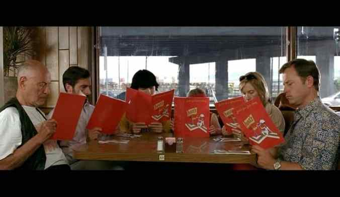 restaurant scene individualism