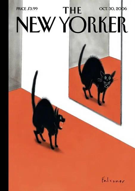Ian Falconer New Yorker illustration author of Olivia
