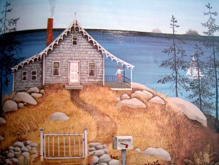 Miss Rumphius Barbara Cooney house on hill