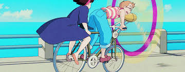 the riding bitch trope in Kiki's Delivery Service